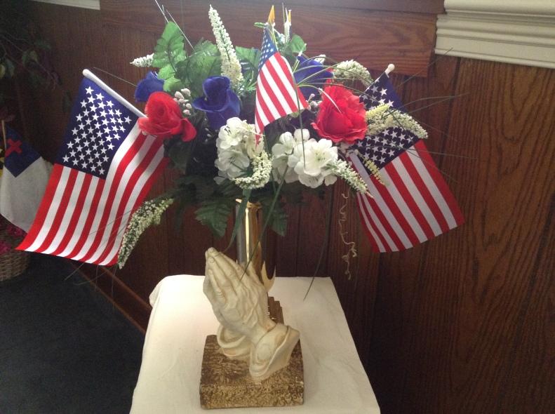 praying for veterans